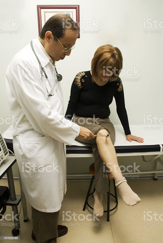 Neuropathologist stock photo