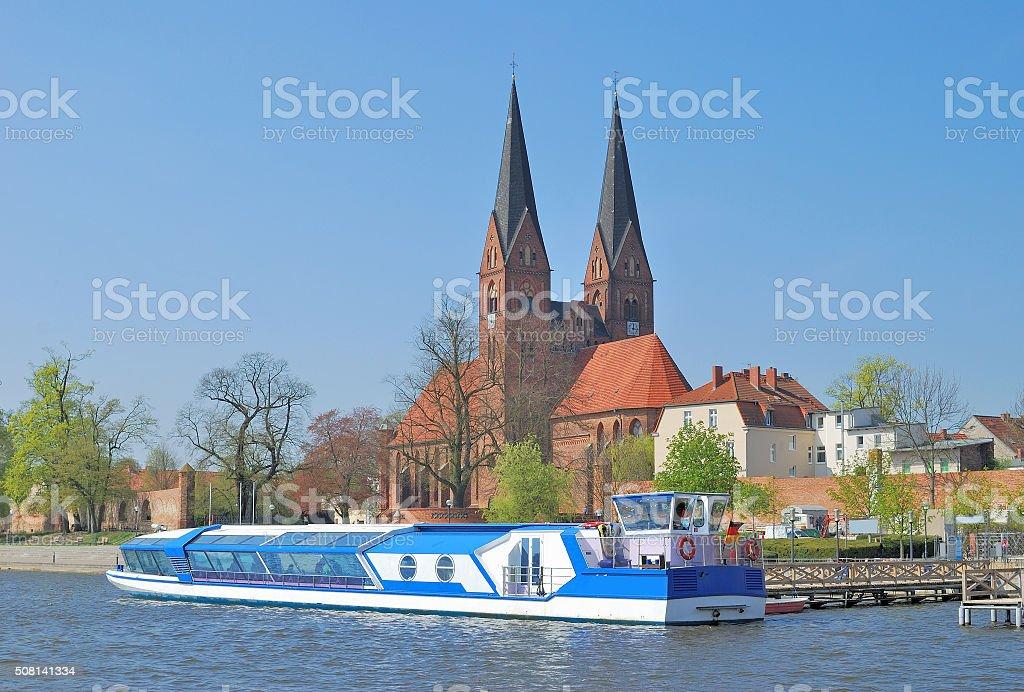 Neuruppin,Uckermark,Brandenburg,Germany stock photo