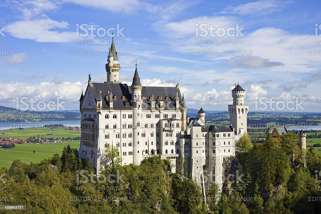 Neuschwanstein Castle, Bavaria, Germany royalty-free stock photo