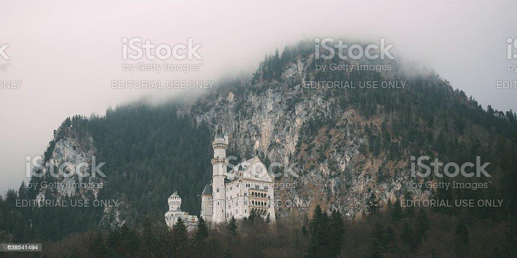 Neuschwanstein castle Bavaria, Germany stock photo