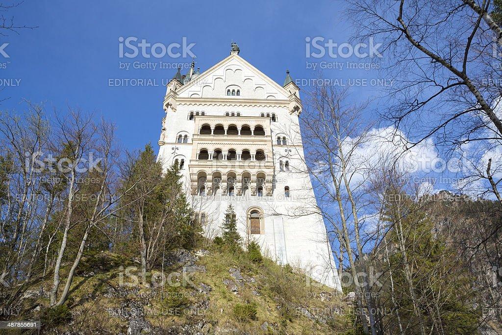 Neuschwanstein Castle,  near Füssen in Bavaria, Germany royalty-free stock photo