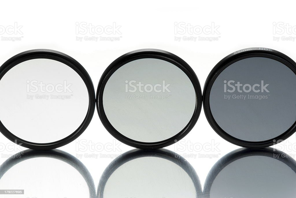 Neutral Density Lens royalty-free stock photo