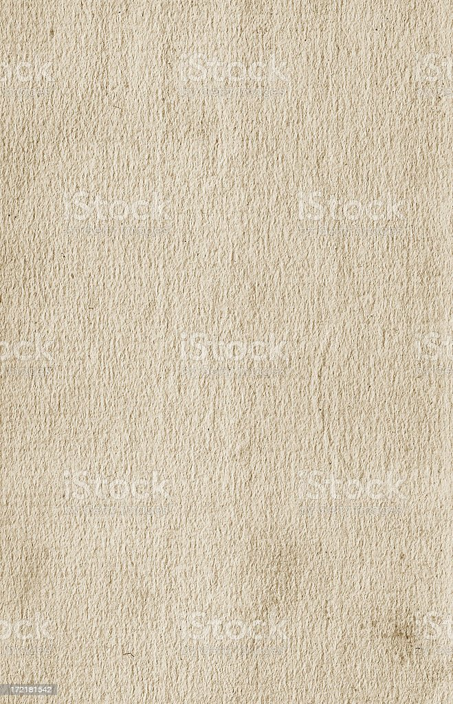 Neutral textured paper from 1940's stock photo