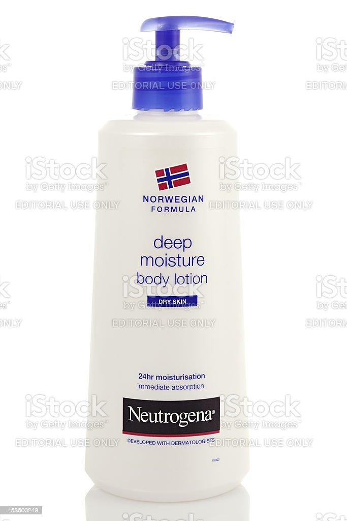 Neutrogena Body Lotion stock photo