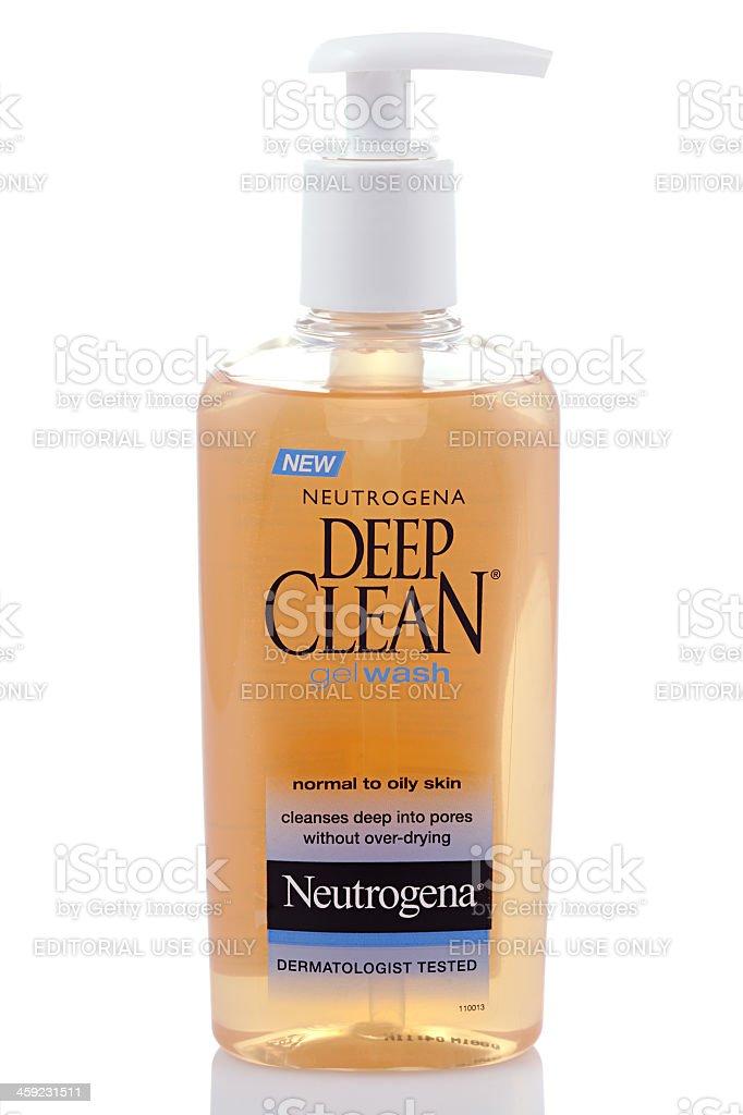 Neutrogena Deep Clean stock photo