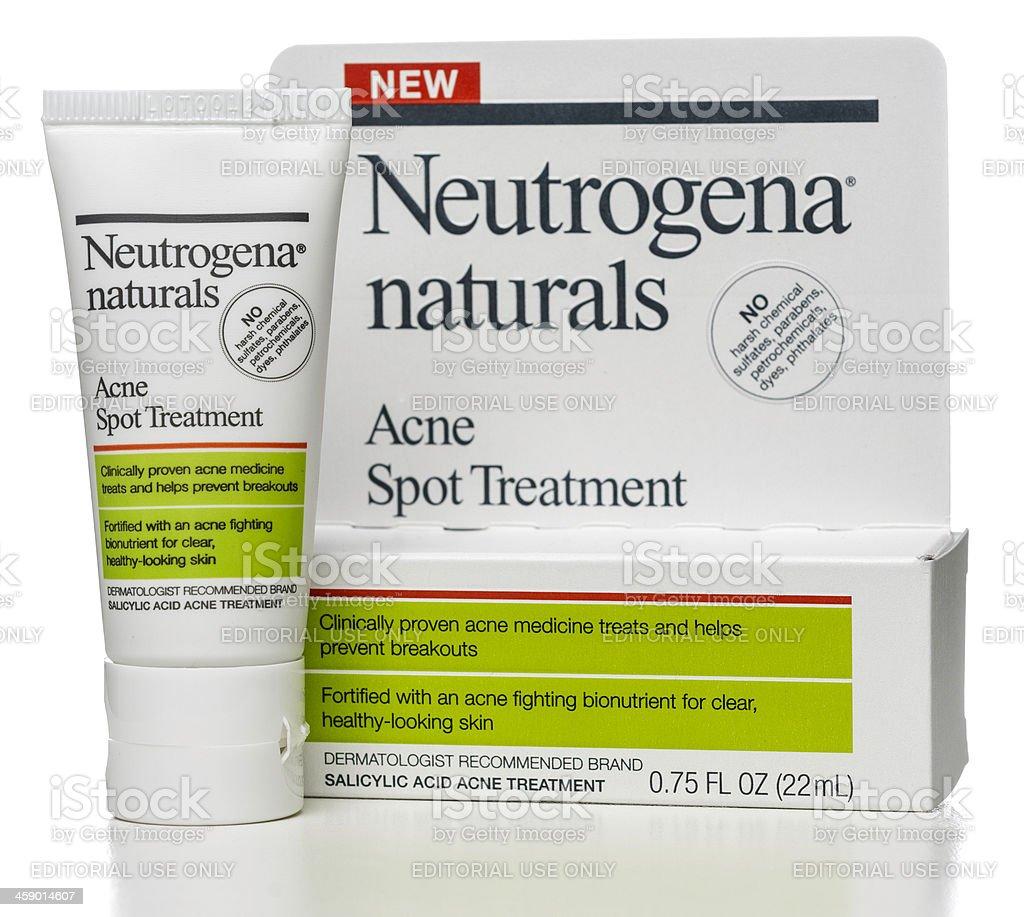 Neutrogena naturals Acne Spot Treatment stock photo