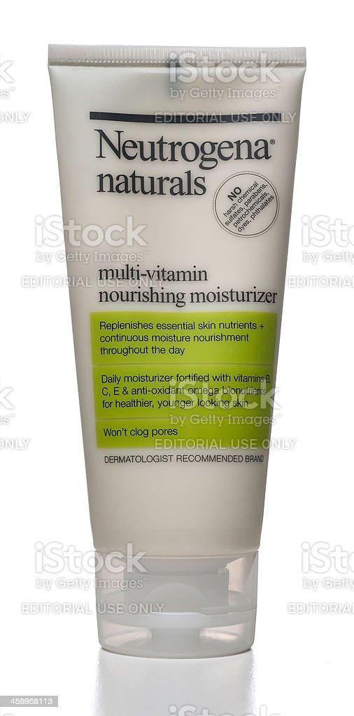 Neutrogena naturals multi vitamin nourishing moisturizer stock photo