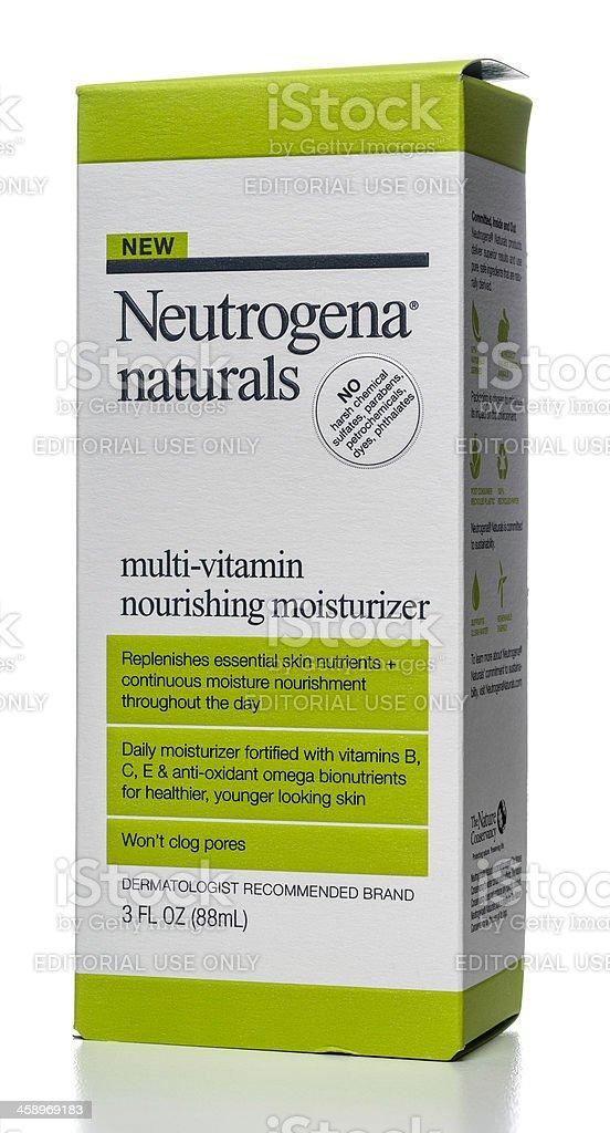 Neutrogena naturals multi-vitamin nourishing moisturizer box stock photo