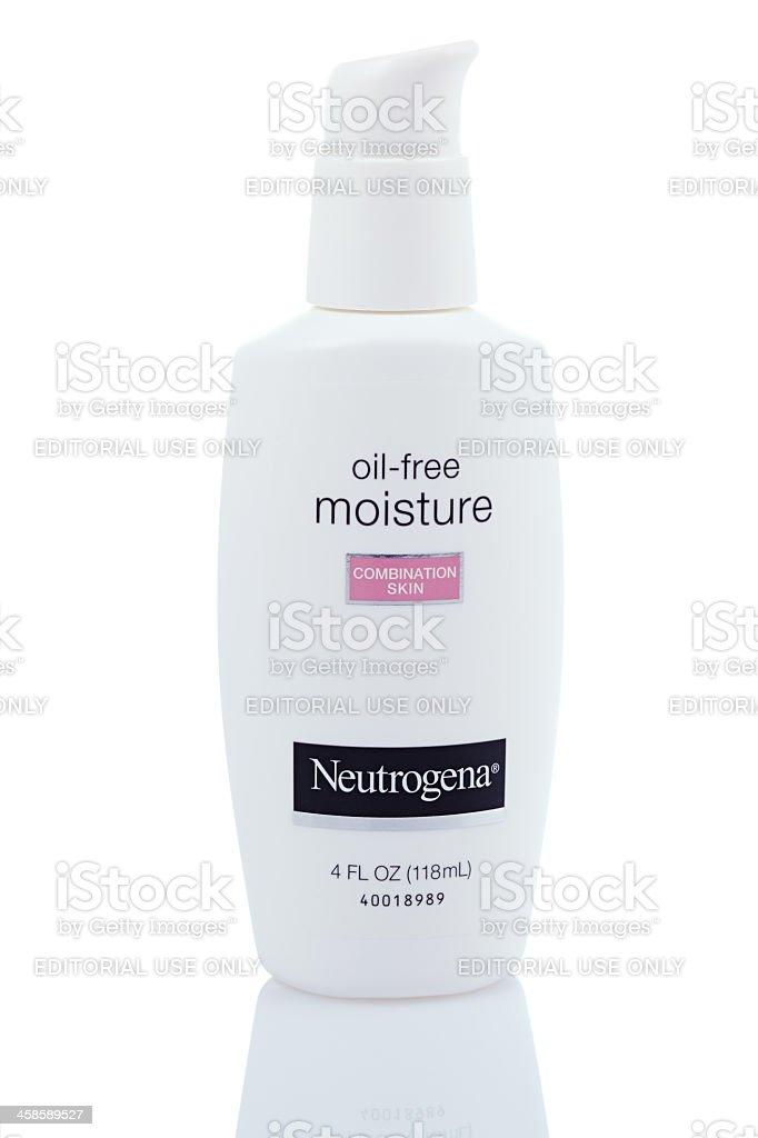 Neutrogena Oil-Free Moisture stock photo