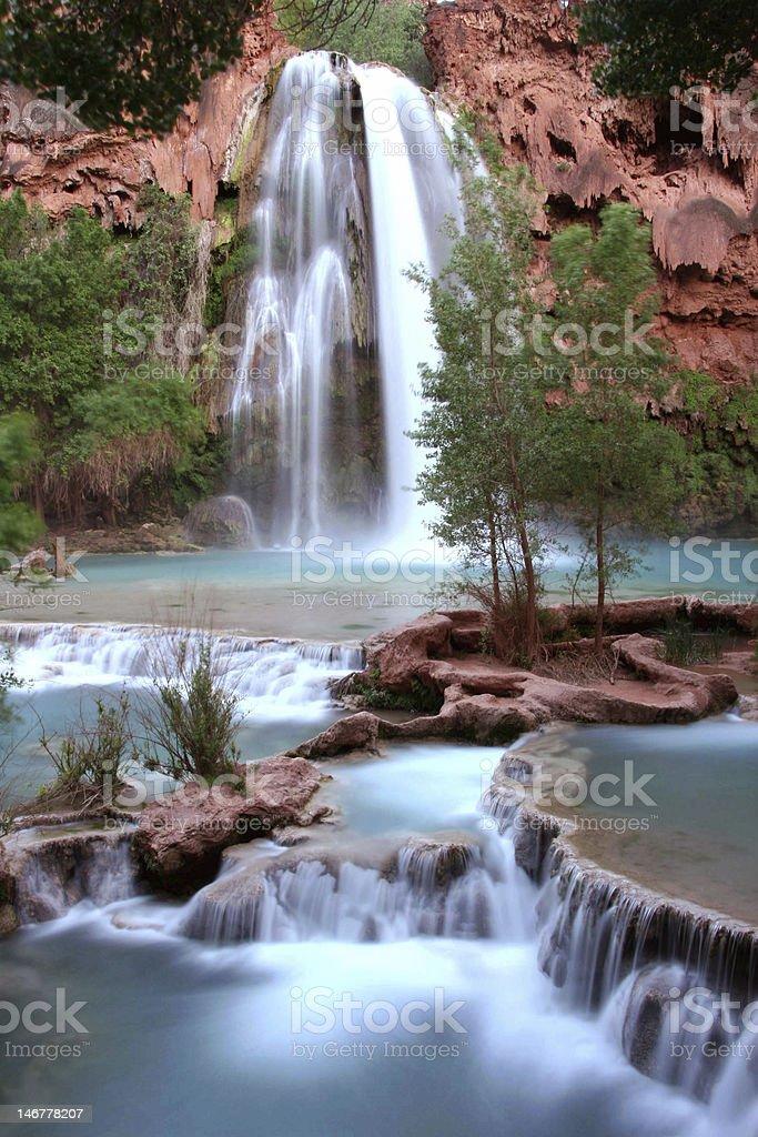 Nevada falls stock photo