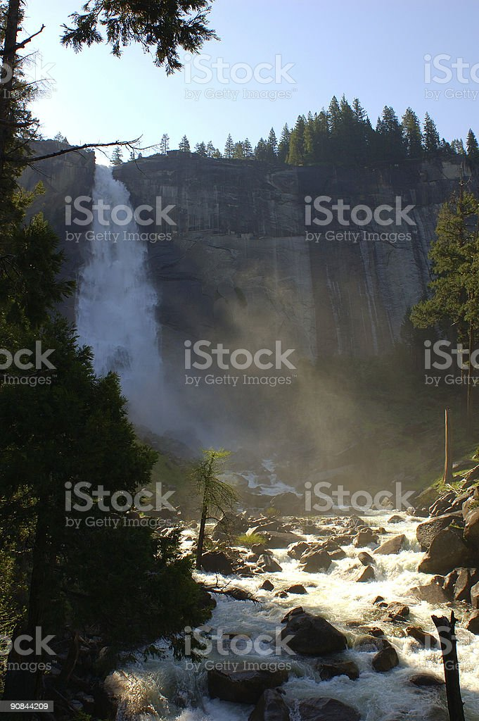 Nevada Falls stock photo
