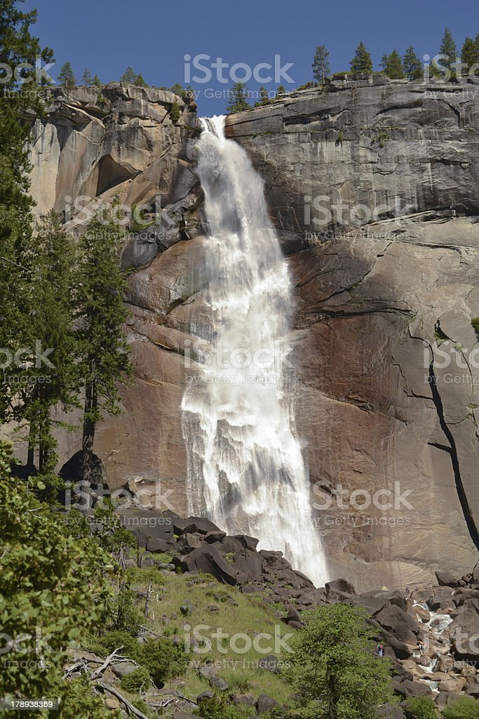 Nevada Falls, Yosemite National Park royalty-free stock photo