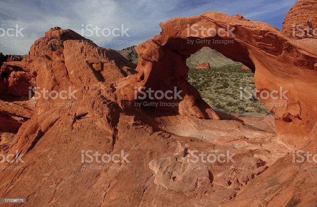 Nevada Red Rocks stock photo