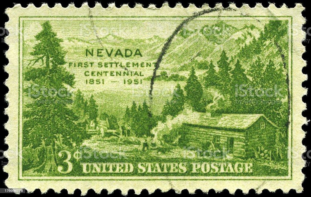 Nevada Settlement stock photo