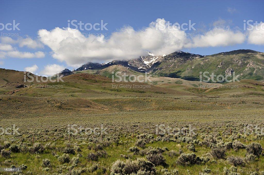 Nevada Views stock photo