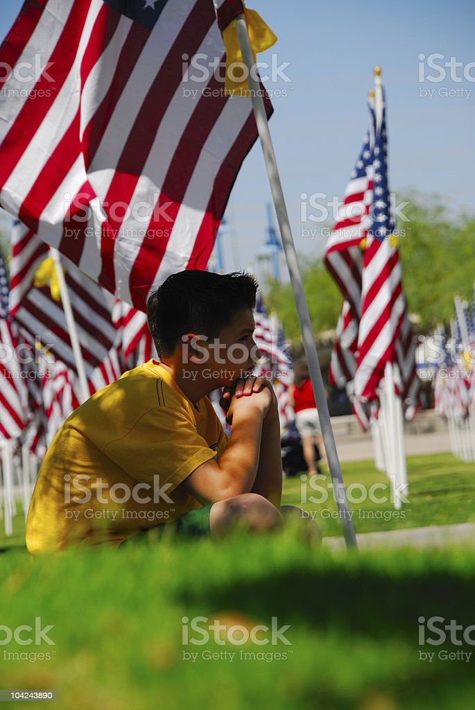 Never Forget stock photo