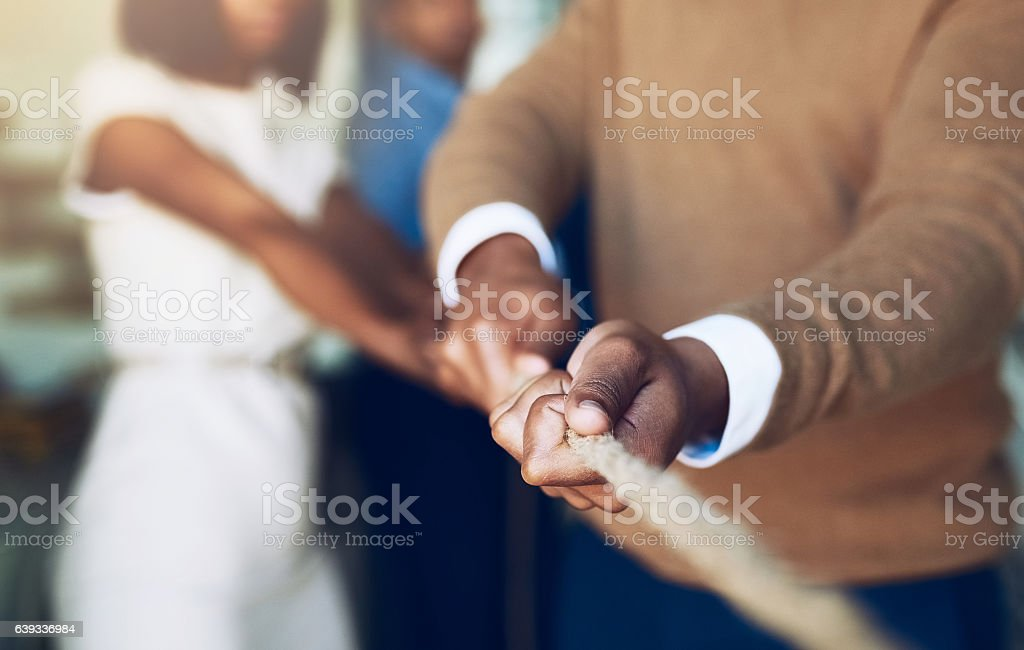 Never give up, great things take time stock photo