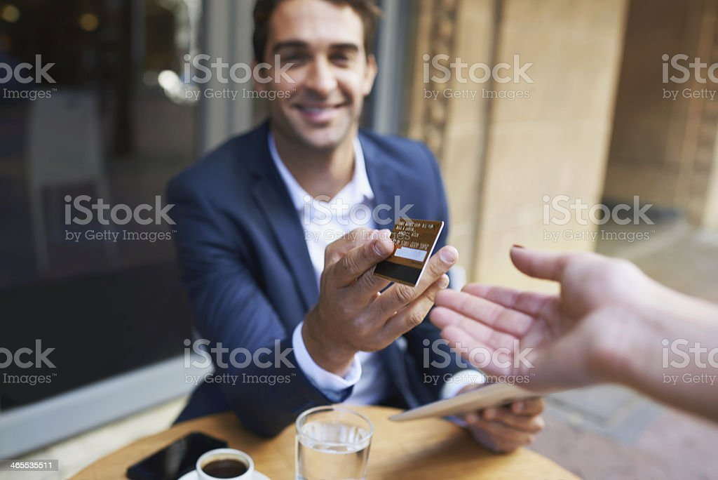Never go out without it! stock photo