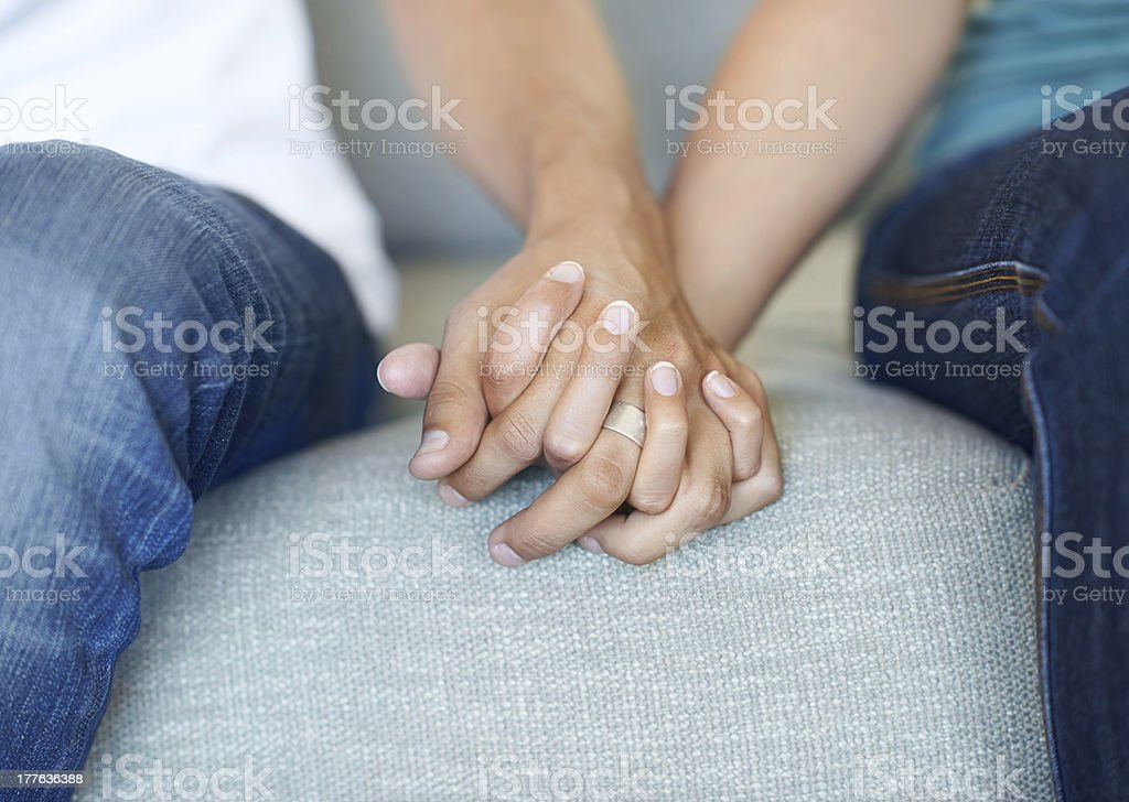 Never let me go royalty-free stock photo