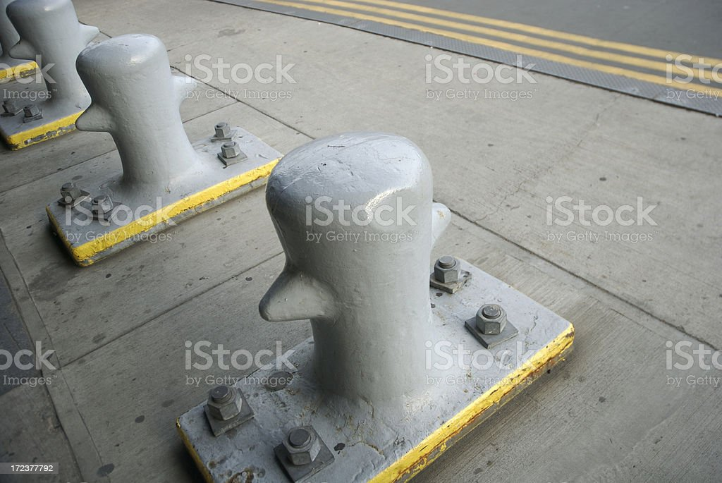 Never Mind the Bollards royalty-free stock photo