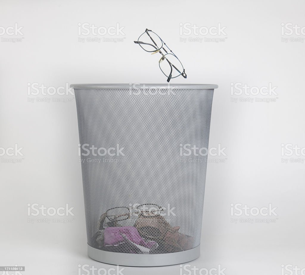 never more glasses royalty-free stock photo