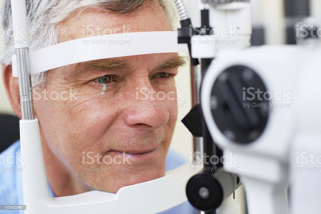 Never neglect your eyecare royalty-free stock photo