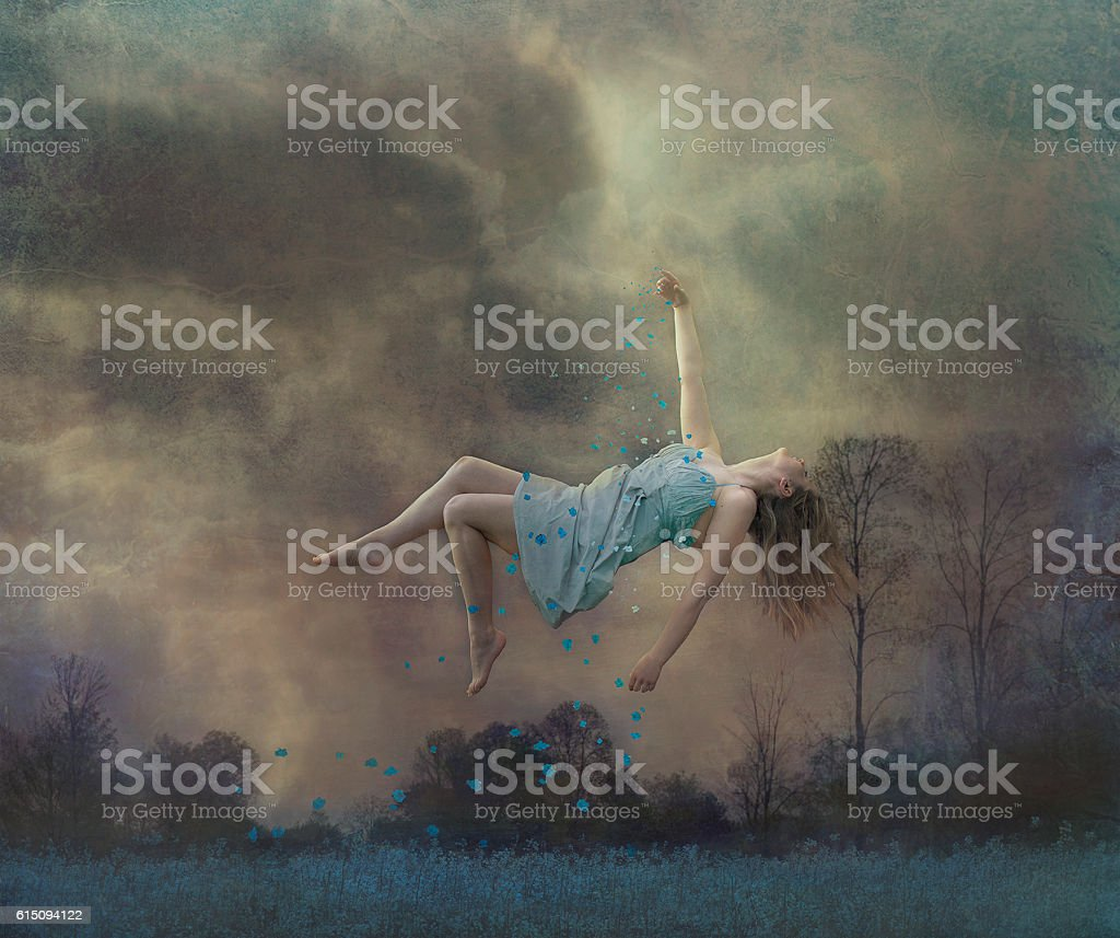 Never stop dreaming stock photo