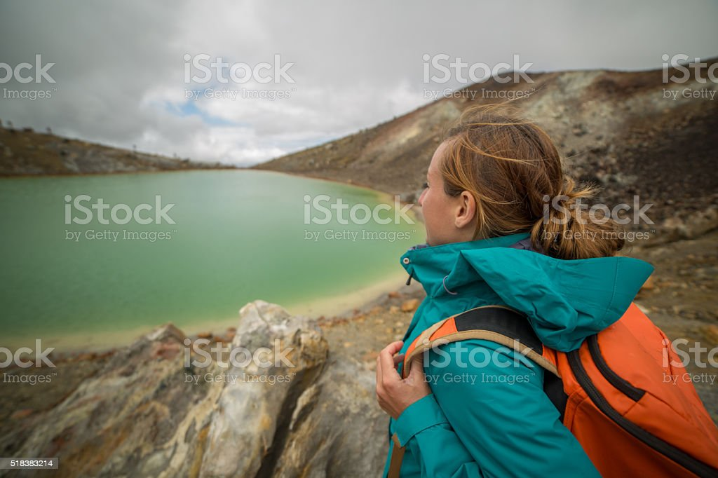 Never stop exploring-New Zealand stock photo