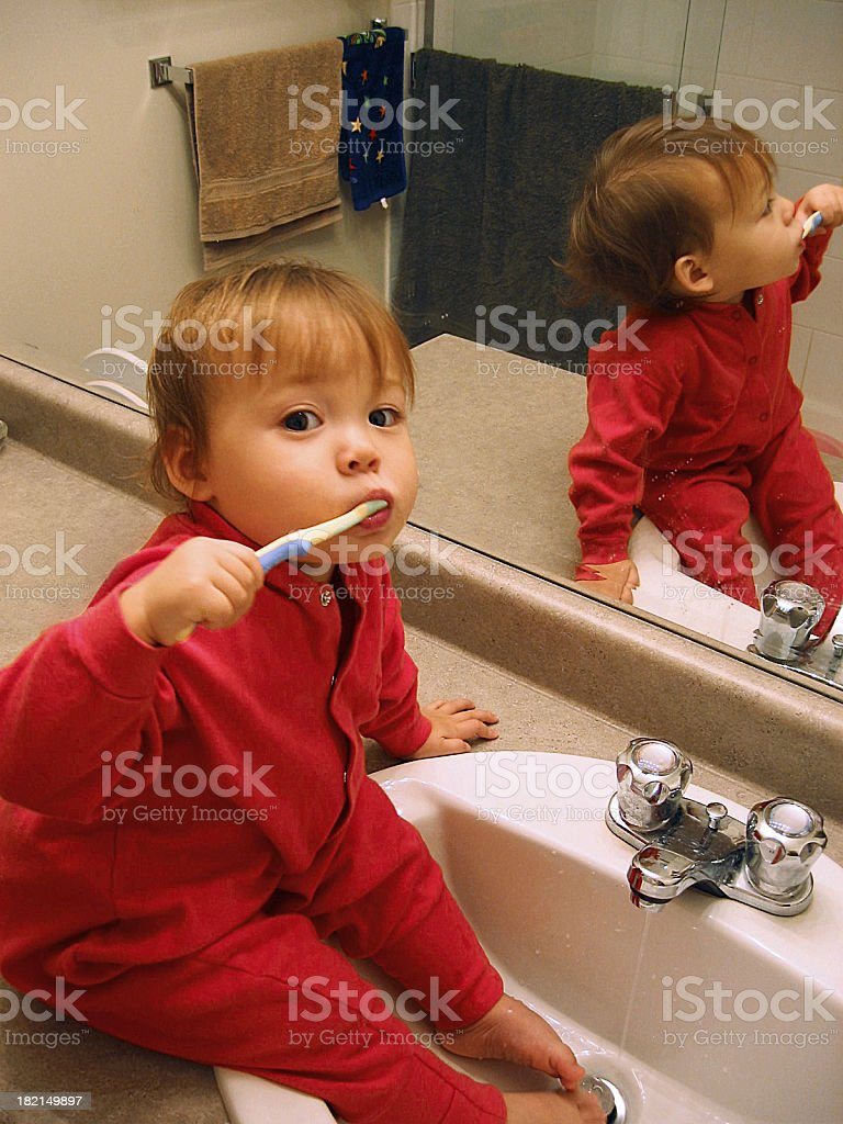 Never too Early royalty-free stock photo