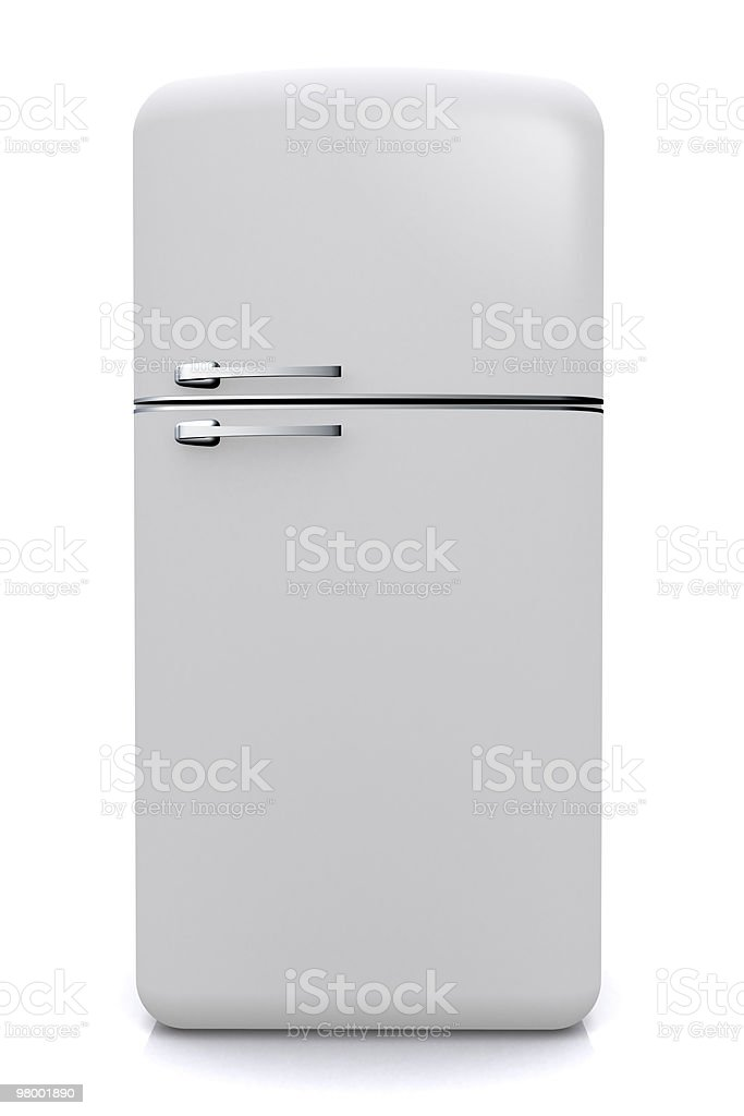 Nevera fridge frontal stock photo