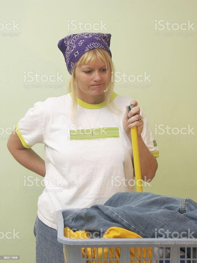 Neverending Housework royalty-free stock photo