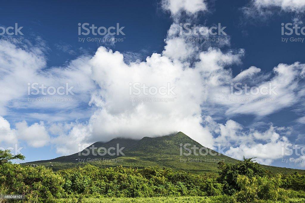 Nevis stock photo