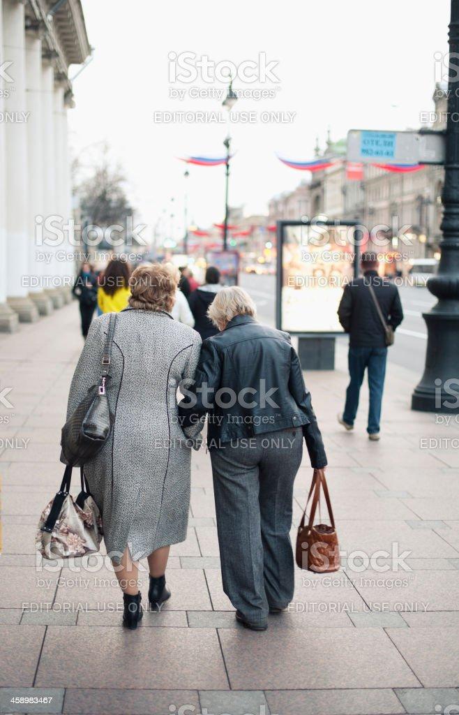 Nevsky Prospekt, St Petersburg royalty-free stock photo