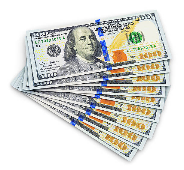 One Hundred Dollar Bill Pictures, Images And Stock Photos