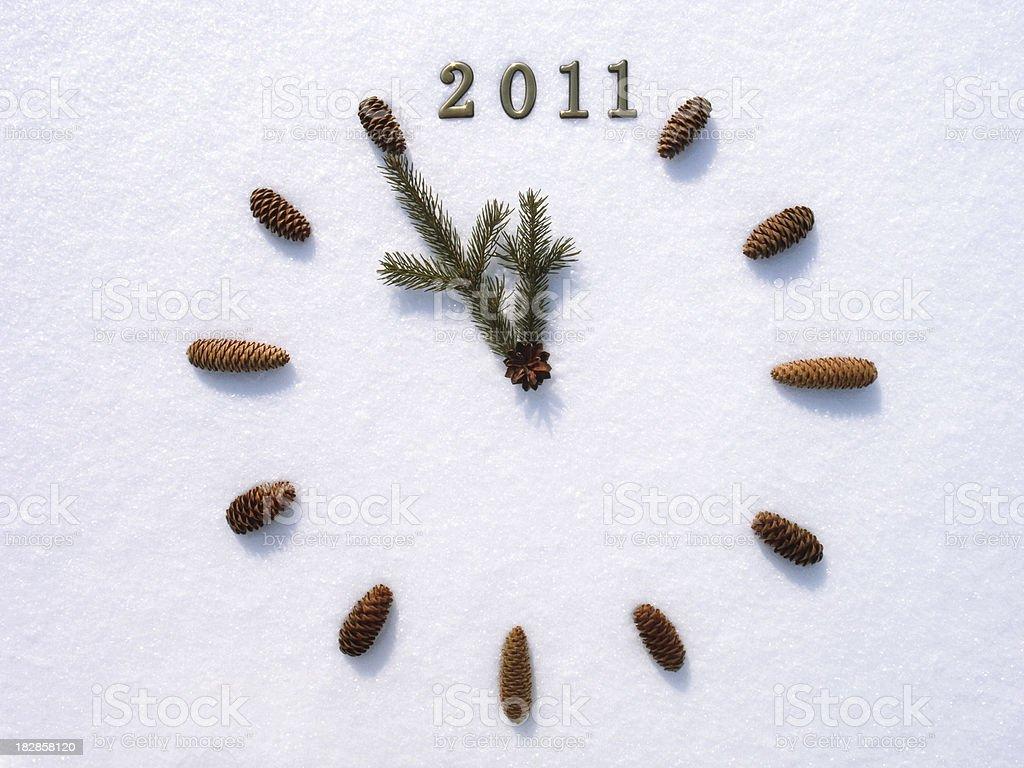 New 2011 year stock photo