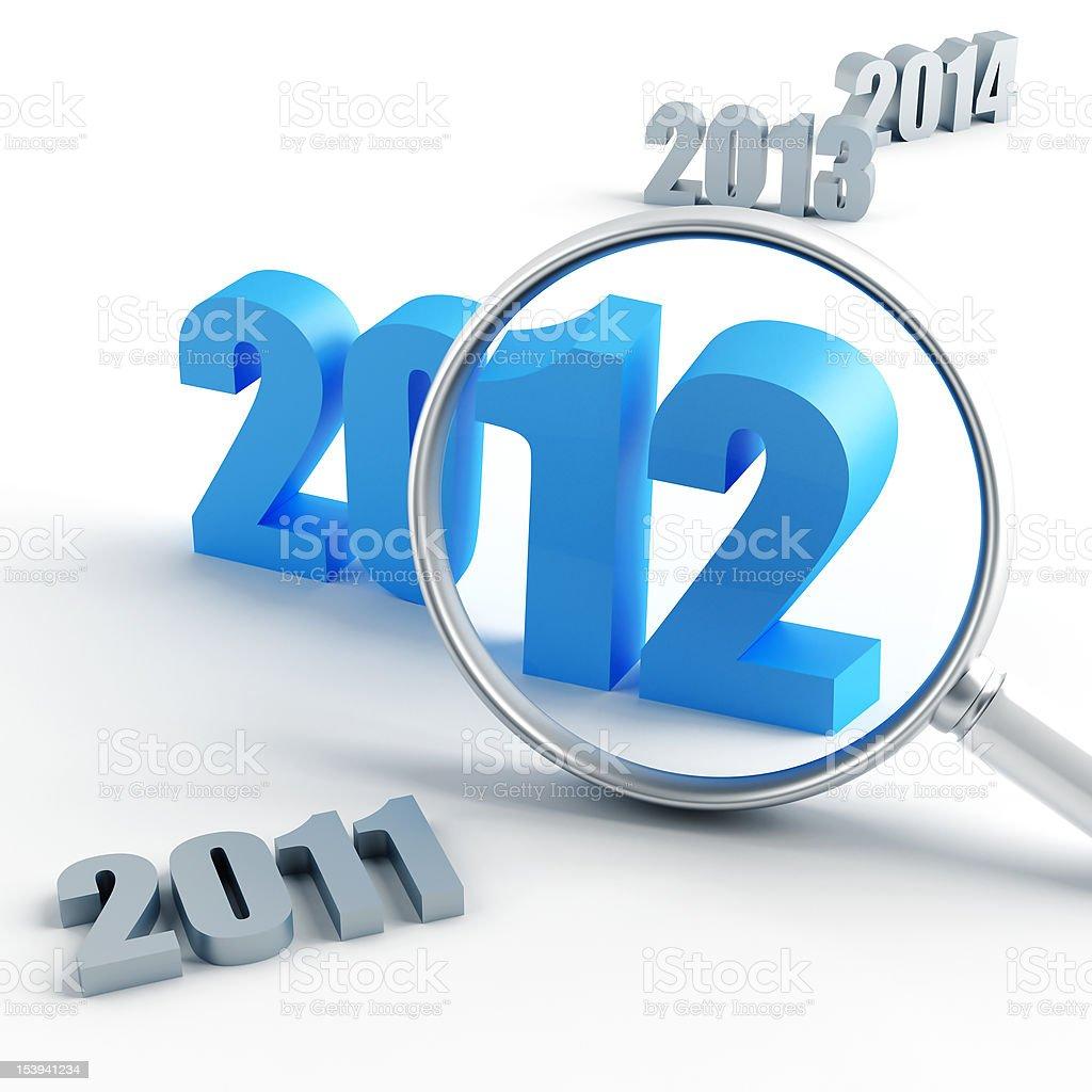 new 2012 year stock photo