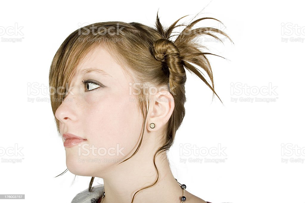 New Age Hairstyle royalty-free stock photo