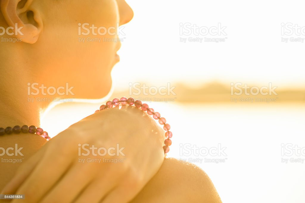 New Age Wellness - Crystal and Gemstone Jewellery stock photo