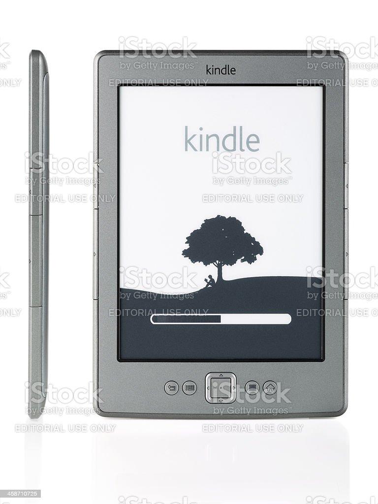 New Amazon Kindle royalty-free stock photo