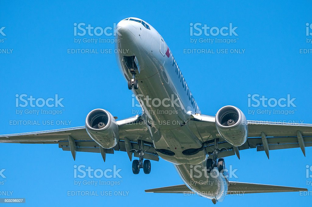 New American Airlines royalty-free stock photo