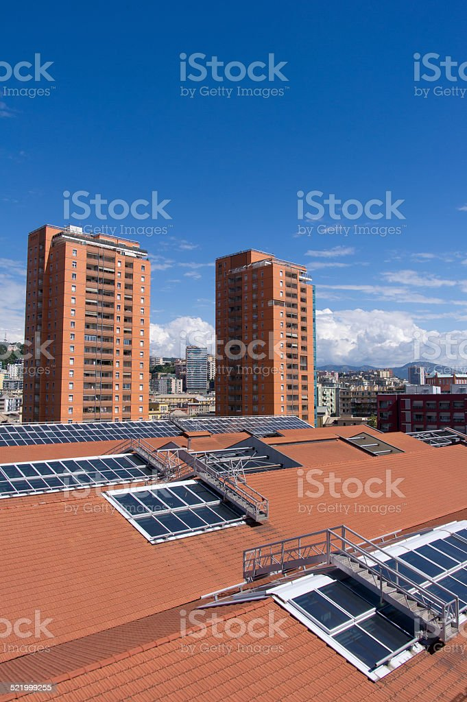 new and modern buildings royalty-free stock photo