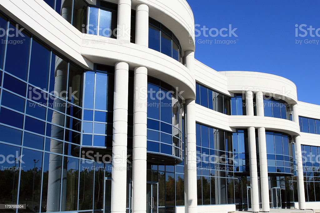 New and Modern Industrial Lofts Building stock photo