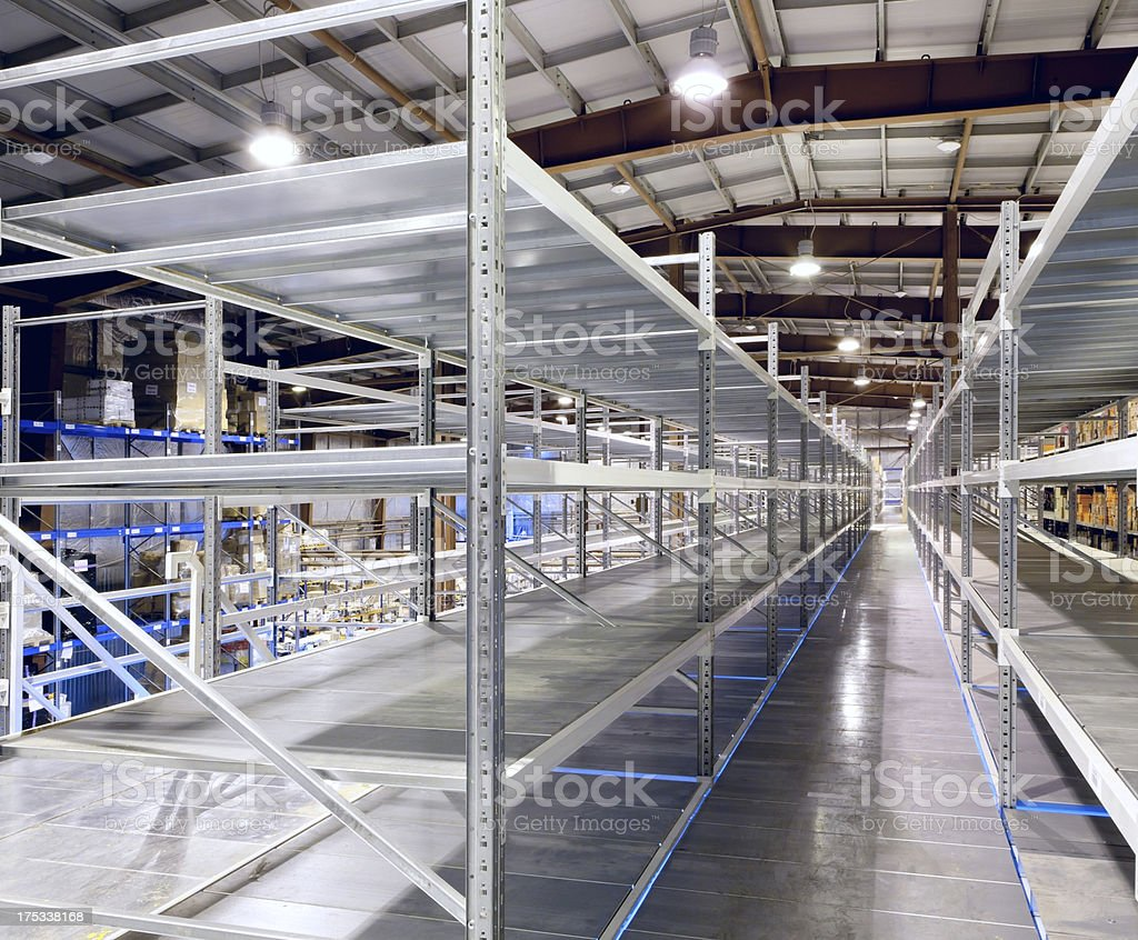 New and modern warehouse royalty-free stock photo