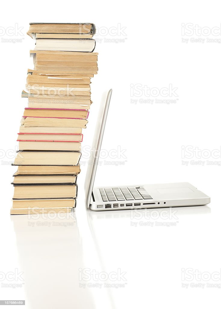 New and old media. royalty-free stock photo