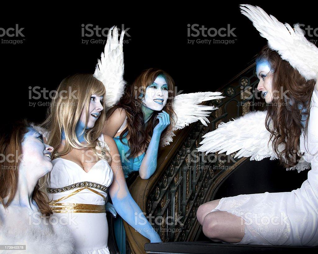 New Angel stock photo