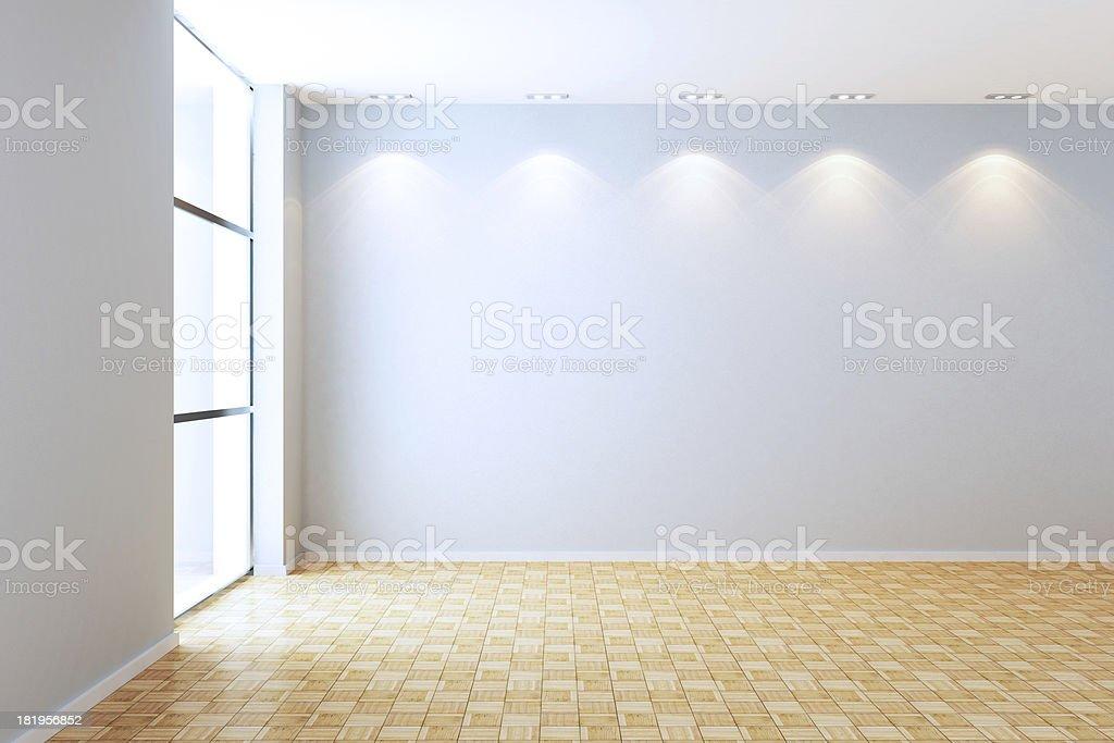 New Apartment Empty Interior royalty-free stock photo