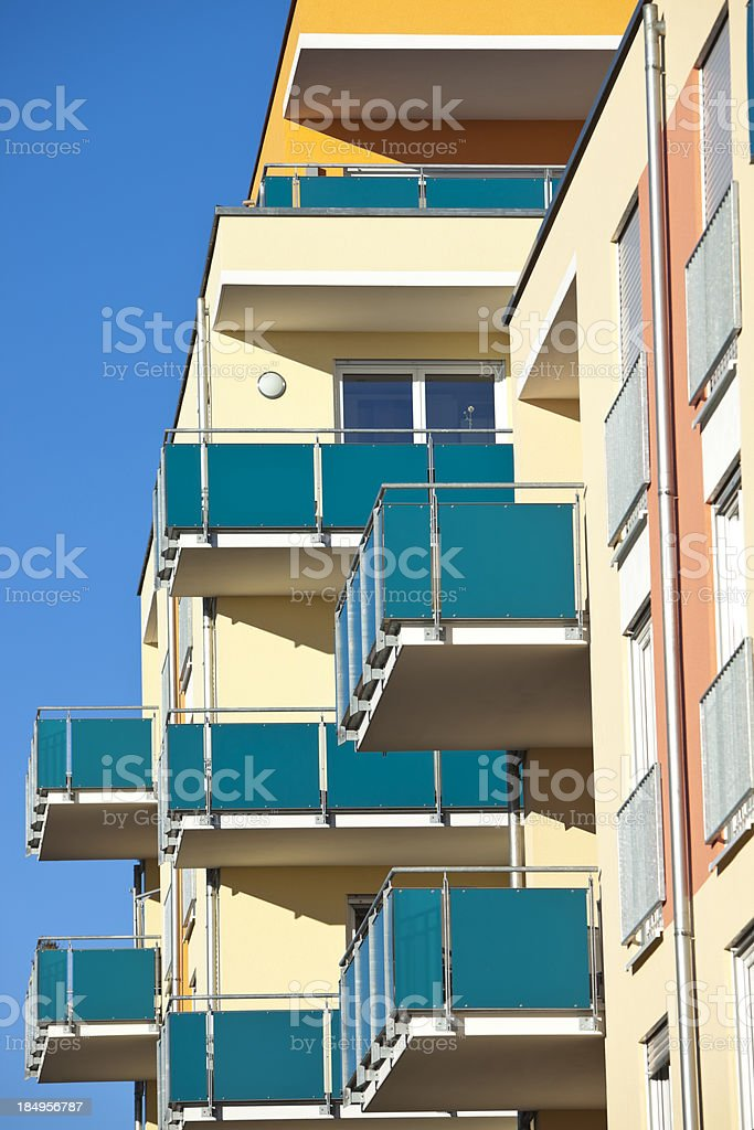 New Apartment Houses royalty-free stock photo