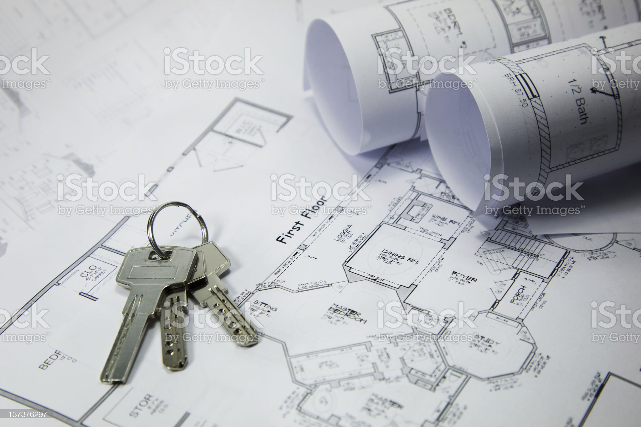 new apartment keys royalty-free stock photo