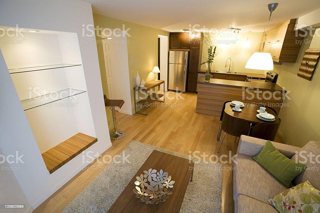 New apartment stock photo