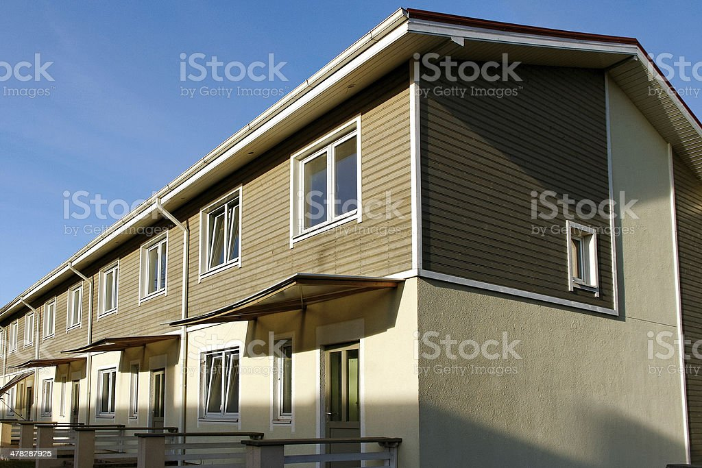 New apartments. royalty-free stock photo